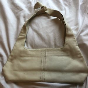 Vintage 90s Furla leather off-white purse